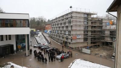 Richtfest Studentisches Wohnen Coburg: Neubau auf dem Campus Design