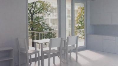 Modell Raum Studentisches Wohnen Bayreuth